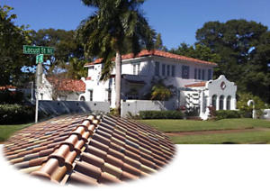 Historic Vinoy Mansion Tile Roof